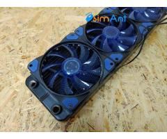 Алюминиевый радиатор для СЖО на 3 вентилятора 120мм